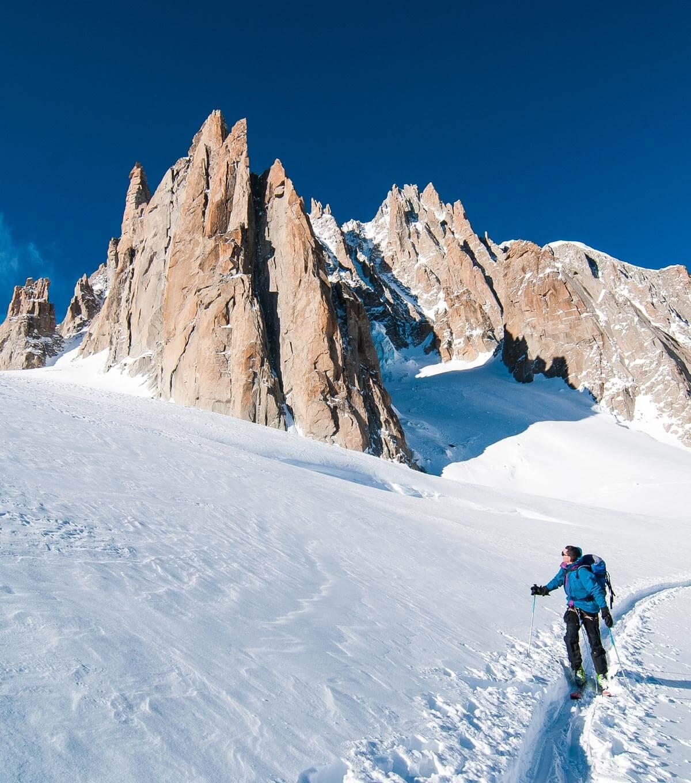 Ski de randonnée Chamonix