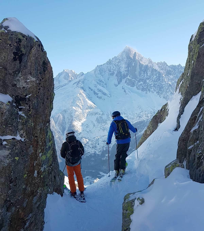 Meilleur spot de hors-piste Chamonix Mont-Blanc