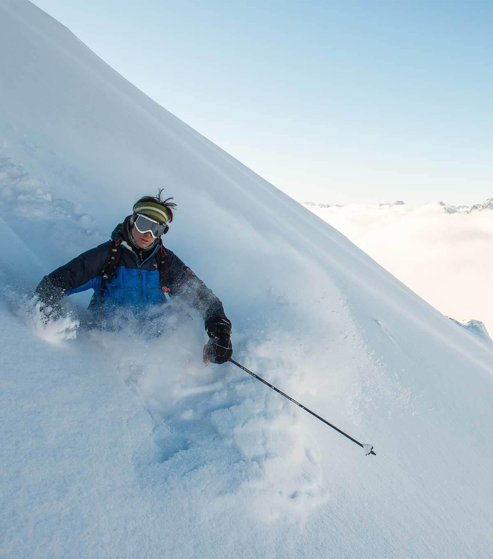 Hors piste : skiez la poudreuse à l'état pur Chamonix