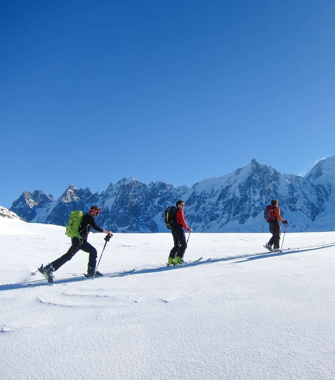 Ski de randonnée Chamonix Mont-Blanc