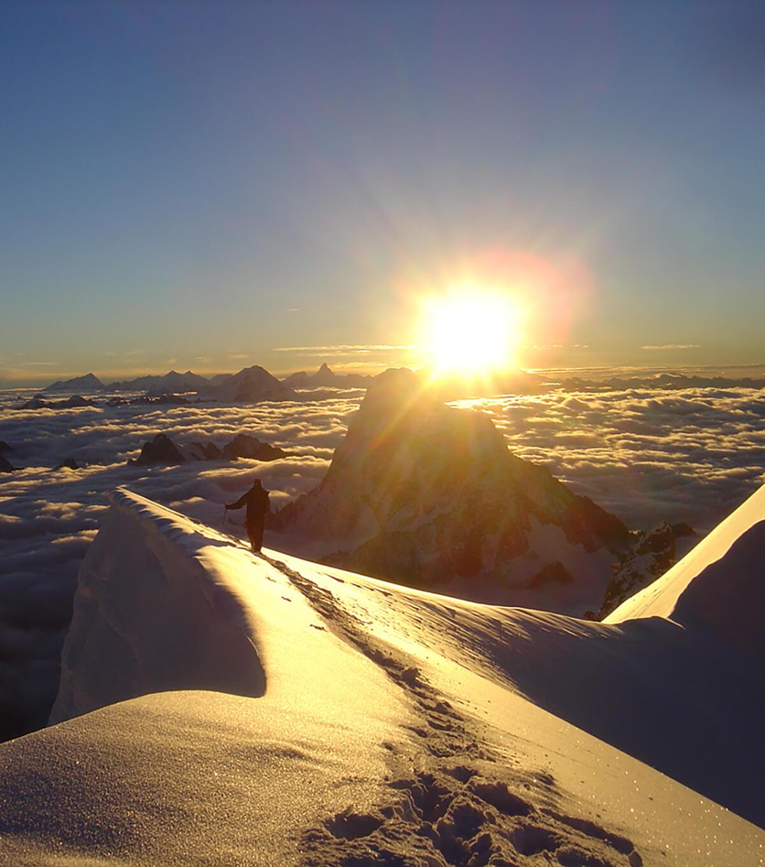 Alpinisme en Vallée de Chamonix, massif du Mont-Blanc